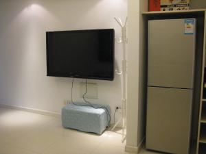 Апартамент с 1 спалня Shanghai Family Tian Comfortable Guest House Near Songjiang University City