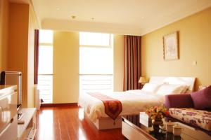 Chenlong Service Apartment - Yuanda building, Aparthotely  Šanghaj - big - 49
