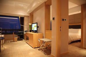 Shanghai Hongqiao Airport Hotel - Air China, Отели  Шанхай - big - 16