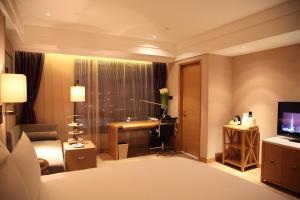 Shanghai Hongqiao Airport Hotel - Air China, Отели  Шанхай - big - 14