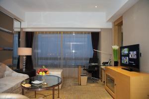 Shanghai Hongqiao Airport Hotel - Air China, Отели  Шанхай - big - 5