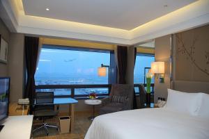 Shanghai Hongqiao Airport Hotel - Air China, Отели  Шанхай - big - 7