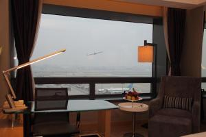 Shanghai Hongqiao Airport Hotel - Air China, Отели  Шанхай - big - 13