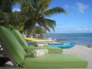 Blue Heaven Island, Lodges  Bora Bora - big - 30