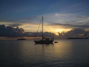 Blue Heaven Island, Лоджи  Бора-Бора - big - 36