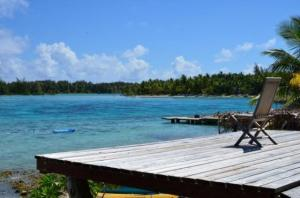 Blue Heaven Island, Лоджи  Бора-Бора - big - 46