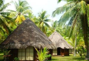 Blue Heaven Island, Lodges  Bora Bora - big - 12
