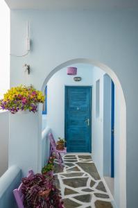 Galazia Studios, Aparthotely  Naxos Chora - big - 33