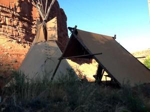 Black Feather Tipi Experience - Accommodation - Kanab