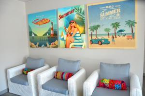 Grand Bleu Vacances – Résidence La Grenadine, Курортные отели  Марсейан - big - 30