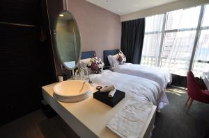 AT Boutique Hotel, Hotel  Taipei - big - 45