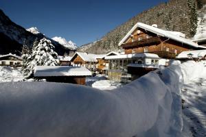 Landhaus Alpenrose - Feriendomizile Pichler, Guest houses  Heiligenblut - big - 17