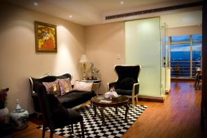 Chenlong Service Apartment - Yuanda building, Aparthotely  Šanghaj - big - 17