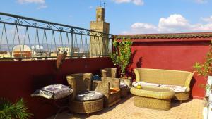 Ryad Bab Berdaine, Riads  Meknès - big - 146