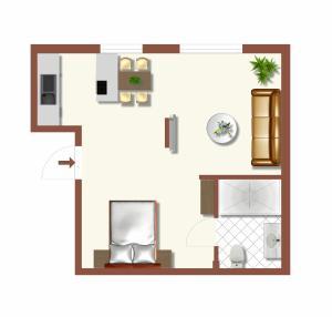 Traditional Apartments Vienna TAV - Design, Apartmány  Viedeň - big - 19