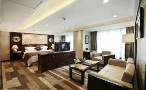 JAHO Forstar Hotel Wenshuyuan Branch, Отели  Чэнду - big - 19