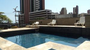 Flat Via Venetto Meirelles, Apartmány  Fortaleza - big - 50