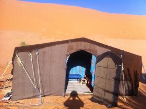 Marhaba Camp, Camel & Sandboarding, Zelt-Lodges  Merzouga - big - 6