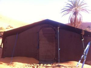 Marhaba Camp, Camel & Sandboarding, Zelt-Lodges  Merzouga - big - 8