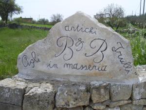 Agli Antichi Trulli B&B In Masseria