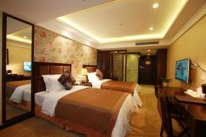 JAHO Forstar Hotel Wenshuyuan Branch, Отели  Чэнду - big - 4