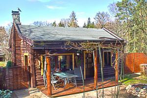 Norwegisches Holzhaus