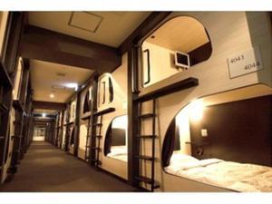 Spa Hotel SOLE Susukino, Hotel a capsule  Sapporo - big - 4