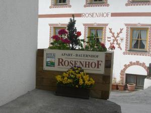 Apart Bauernhof Rosenhof, Farmy  Nauders - big - 45