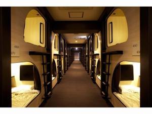 Spa Hotel SOLE Susukino, Hotel a capsule  Sapporo - big - 9
