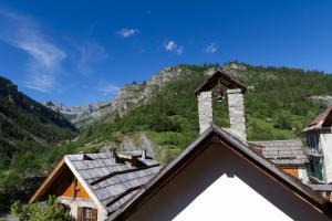 La petite étoile d'hôtes en Mercantour, B&B (nocľahy s raňajkami)  Saint-Dalmas-le-Selvage - big - 14