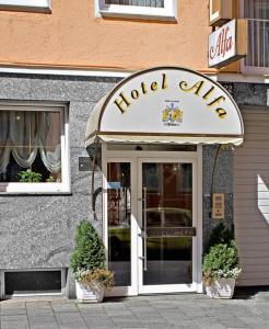 호텔 알파 젠트룸 (Hotel Alfa Zentrum)
