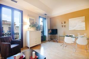 Friendly Rentals Deluxe Paseo de Gracia, Apartmány  Barcelona - big - 28