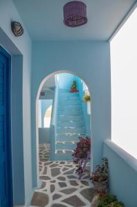 Galazia Studios, Apartmánové hotely  Naxos Chora - big - 34