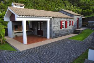 Casas Da Faja, Holiday homes  Praia do Norte - big - 37