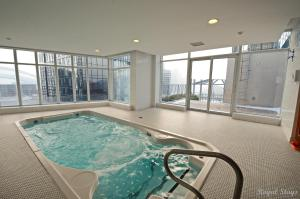 Swimming pool Royal Stays Furnished Apartments-Blue Jays Way