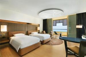 Deluxe Tweepersoonskamer met 1 of 2 Bedden en Uitzicht op Zee
