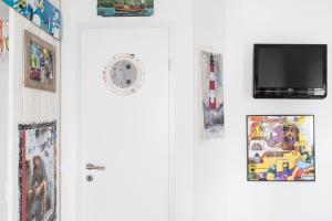 Čtyřlůžkový pokoj se společnou koupelnou