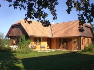 Chata Naturpark Ferienhaus Szalafő Maďarsko
