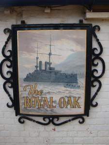 The Royal Oak, Gasthäuser  Weymouth - big - 71