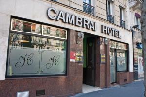 Париж - Hotel Cambrai