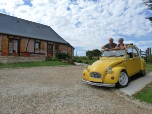 L'Etape Normande, Bed & Breakfast  Montroty - big - 39