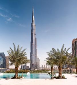 Presidentiële Suite met 2 Slaapkamers en Uitzicht op de Burj Khalifa