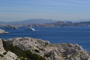 Le Gabian, Apartmány  Marseille - big - 18