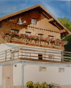 Ferienwohnung Haus Dachsteinblick