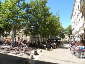 La Terrasse du Marché aux Fleurs, Apartments  Montpellier - big - 10