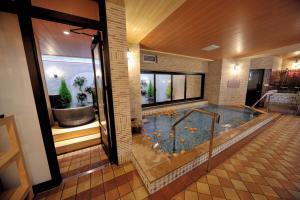Tennen Onsen Taho-no-Yu Dormy Inn Niigata, Отели  Ниигата - big - 13