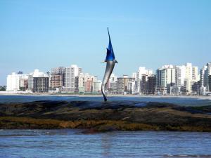 Blue Marlin Apartment, Apartments  Guarapari - big - 9
