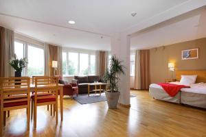 3 hviezdičkový apartmán Hotel Tornet Helsingborg Švédsko