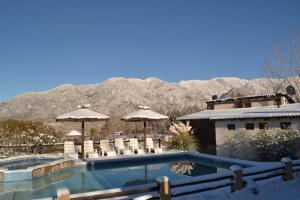 Cabañas Rio Mendoza, Chaty v prírode  Cacheuta - big - 6