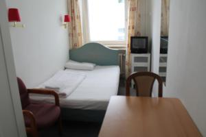 Jednolůžkový pokoj v hostelu
